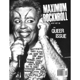 MRR #317/Oct 2009: The Queer Issue (PDF download)