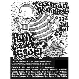 MRR #332/Jan 2011: The Punk Comics Issue! (PDF download)