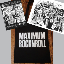 <em>MRR</em> magazine + poster + MRR logo tote bag