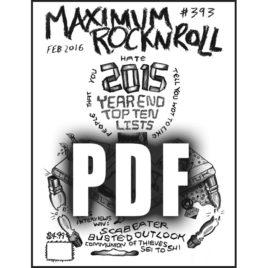 MRR #393 • Feb 2016 <br>(PDF download)
