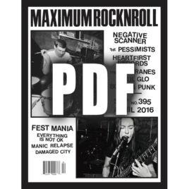 MRR #395 • Apr 2016 <br>(PDF download)