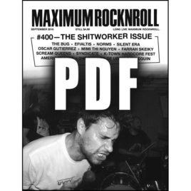 MRR #400 • September 2016 <br>(PDF download)