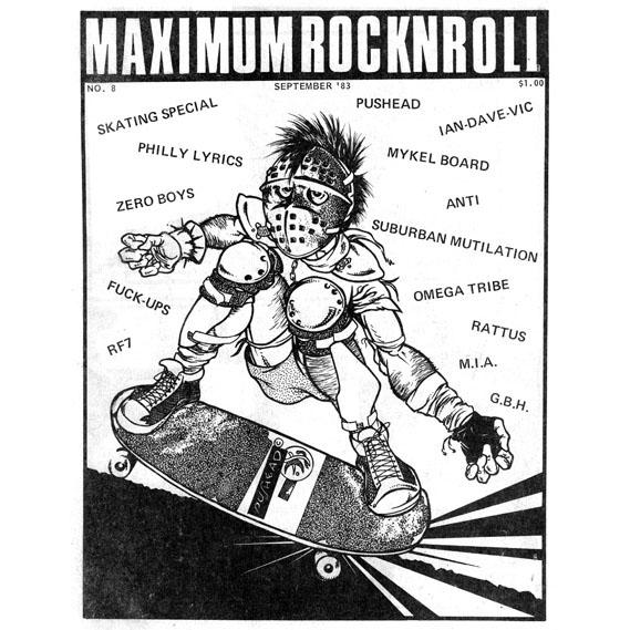 MRR #8 • Sept 1983 , (PDF download)