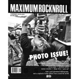 MRR #321 • Feb 2010: Photo Issue! (PDF download)