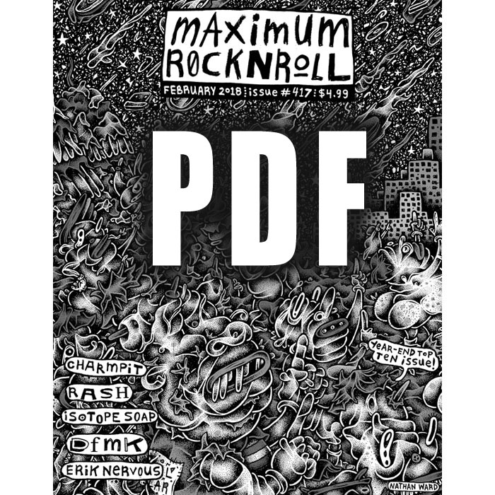 MRR #417 • Feb 2018 , (PDF download)