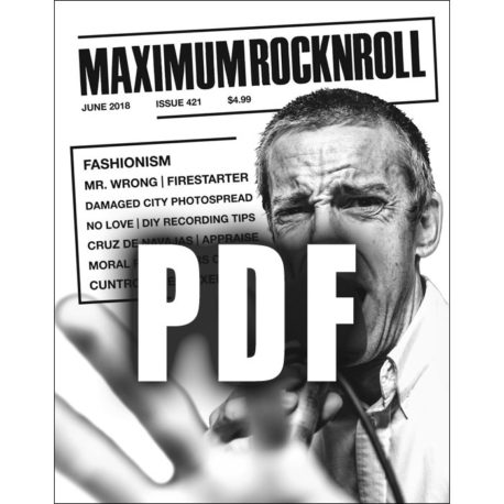 Maximum Rocknroll #421 June 2018