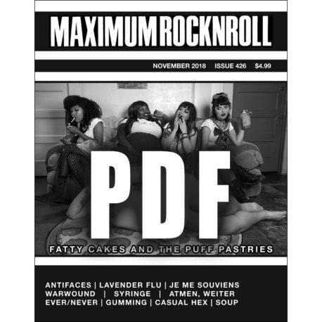 Maximum Rocknroll #426 November 2018