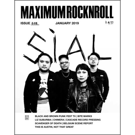 Maximum Rocknroll #428 January 2019