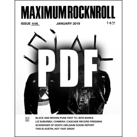 Maximum Rocknroll #428 January 2019