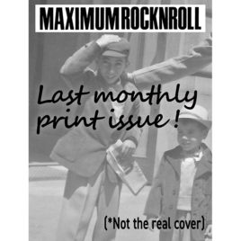 <em>MRR</em> #432 • May 2019 </br>Our Farewell Issue! (Pre-order)